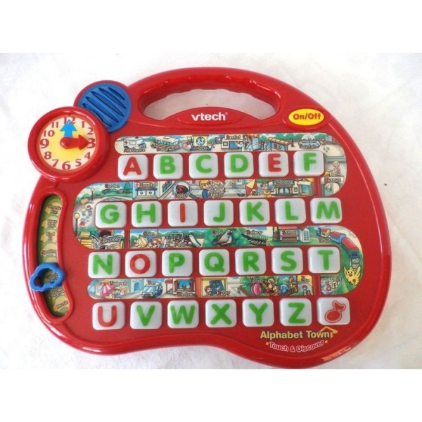 Vtech Aphabet Town Used